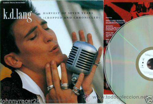 Vídeos y DVD Musicales: k.d.lang Harvest of Seven Years (Cropped And Chronicled) 1991 ( LASER DISC ) NUEVO !!! PRECINTADO !! - Foto 3 - 42679598