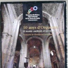 Vídeos y DVD Musicales: ORQUESTRA SIMFÒNICA JULIÀ CARBONELL DE LLEIDA 10 ANYS D'ORQUESTRA CONCERTS CLOENDA DE L'ANIVERSARI. Lote 42993884