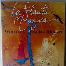 Vídeos y DVD Musicales: DVD LA FLAUTA MÁGICA WOLFGANG AMADEUS MOZART . Lote 42995525