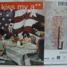 Vídeos y DVD Musicales: KISS KISS MY ASS DVD CON FUNDA DE CARTON UNIVERSAL VER FOTOS. Lote 43079142