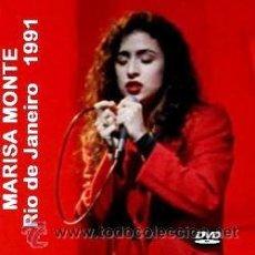 Vídeos y DVD Musicales: MARISA MONTE - RIO DE JANEIRO 1991 (DVD). Lote 43435117