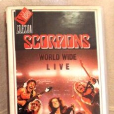 Vídeos y DVD Musicales: VHS SCORPIONS LIVE WORD WIDE LIVE. Lote 43197583
