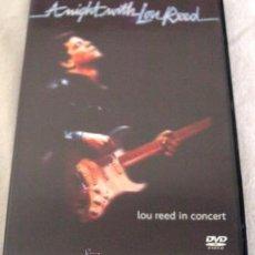 Vídeos y DVD Musicales: DVD MUSICAL LOU REED CON SWEET JANE. Lote 43341319