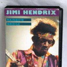 Vídeos y DVD Musicales: JIMI HENDRIX RAINBOW BRIDGE EN VHS. Lote 43418960