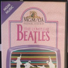 Vídeos y DVD Musicales: THE COMPLEAT BEATLES VHS. Lote 43532589