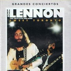 Vídeos y DVD Musicales: DVD JOHN LENNON AND THE PLASTIC ONO BAND SWEET TORONTO. Lote 43879708