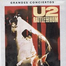 Vídeos y DVD Musicales: DVD U2 RATTLE AND HUM GRANDES CONCIERTOS . Lote 43894452