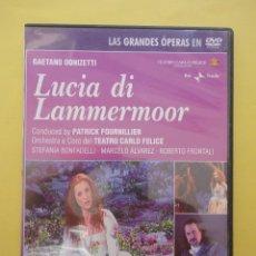 Vídeos y DVD Musicales: ÓPERA. LUCIA DI LAMMERMOOR. Lote 43905000