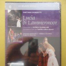 Vídeos y DVD Musicales: ÓPERA. DONIZETTI. LUCIA DI LAMMERMOOR (SIN ABRIR). Lote 43905101