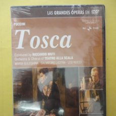 Video e DVD Musicali: ÓPERA. PUCCINI. TOSCA. SIN ABRIR. Lote 43905307