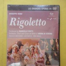Vídeos y DVD Musicales: ÓPERA. VERDI. RIGOLETTO (SIN ABRIR). Lote 227258585