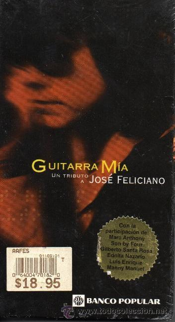 GUITARRA MÍA UN TRIBUTO A JOSÉ FELICIANO. SIN DESPRECINTAR. (Música - Videos y DVD Musicales)