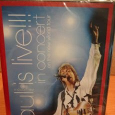 Vídeos y DVD Musicales: PAUL MCCARTNEY IN CONCERT ON THE NEW WORLD TOUR. CONCIERTO EN DIRECTO. PRECINTADO A ESTRENAR.. Lote 43979572