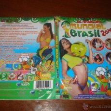 Vídeos y DVD Musicales: MUNDIAL BRASIL 2014 DVD PITBULL JENNIFER LOPEZ JUANES RICKY MARTIN SHAKIRA ENRIQUE IGLESIAS Y MAS.... Lote 44064326