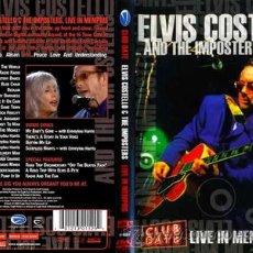Vídeos y DVD Musicales: ELVIS COSTELLO & EMMYLOU HARRIS / LIVE IN MEMPHIS !! RARO OFICIAL DVD 165 MTOS !! NUEVO Y PRECINTADO. Lote 34205809
