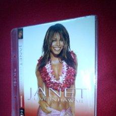 Vídeos y DVD Musicales: JANET JACKSON- LIVE IN HAWAII - DVD. Lote 44456014