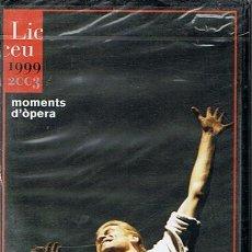 Vídeos y DVD Musicales: MOMENTS D´ÓPERA LICEU TEMPORADA 1999 - 2003 (PRECINTADO). Lote 44683224