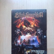 Vídeos y DVD Musicales: BLIND GUARDIAN 2 DVD - IMAGINATIONS THROUGH THE LOOKING GLASS HEAVY. Lote 44867810
