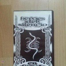 Vídeos y DVD Musicales: HEROES DEL SILENCIO EN DIRECTO - RTVE MADRID PROMOCIONAL. Lote 44868683