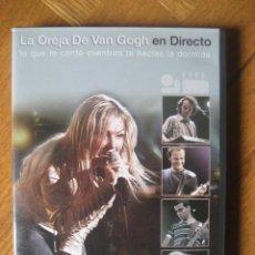 Vídeos y DVD Musicales: LA OREJA DE VAN GOGH - LO QUE TE CONTE MIENTRAS TE HACIAS LA DORMIDA (DVD + CD). Lote 45332242