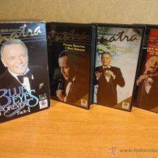 Vídeos y DVD Musicales: V.H.S. !! FRANK SINATRA. BLUE EYES FOREVER. PACK 1 - 3 VHS / RECORD VISIÓN - 1991. COMO NUEVO.. Lote 45397910