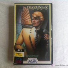 Vídeos y DVD Musicales: VHS DAVID BOWIE-SERIOUS MOONLIGHT. Lote 45670407