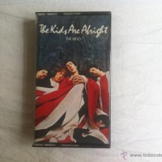 Vídeos y DVD Musicales: VHS THE WHO-THE KIDS ARE ALRIGHT. Lote 45670445