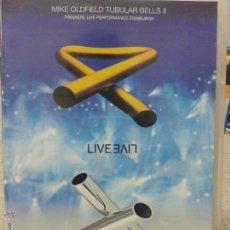 Vídeos y DVD Musicales: MIKE OLDFIELD TUBULAR BELLS II TUBULAR BELLS III. Lote 45711210