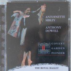 Video e DVD Musicali: CINDERELLA THE ROYAL BALLET ANTOINIETTE SIBLEY ANTHONY DOWELL EN DVD PRECINTADO. Lote 45745148