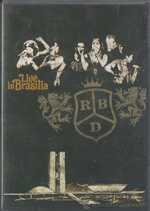 dvd rbd live in brasilia