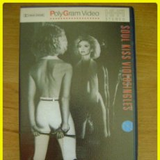 Vídeos e DVD Musicais: VHS MUSICAL: OLIVIA NEWTON-JOHN, SOUL KISS VIDEOSINGLES. 1985. 5 CANCIONES, 20 MINUTOS. Lote 197277885