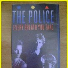 Vídeos e DVD Musicais: VHS MUSICAL: THE POLICE, EVERY BREATH YOU TAKE, THE VIDEOS. 14 CANCIONES, 60 MINUTOS, 1986. Lote 45855150