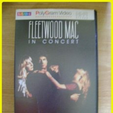 Vídeos e DVD Musicais: VHS MUSICAL: FLEETWOOD MAC IN CONCERT, MIRAGE TOUR. LOS ANGELES FORUM, 1982. 80 MIN, 13 SONGS. Lote 45855309