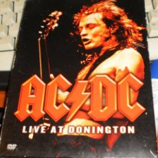 Vídeos y DVD Musicales: AC DC DVD LIVE AT DONINGTON.2003. Lote 95736263