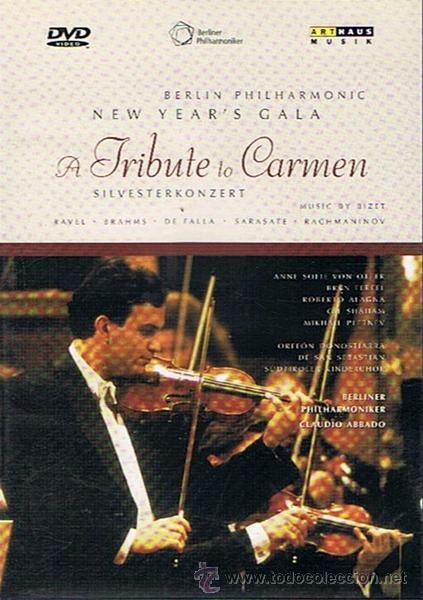DVD BERLÍN PHILHARMONIC NEW YEAR´S GALA A TRIBUTE TO CARMEN (Música - Videos y DVD Musicales)