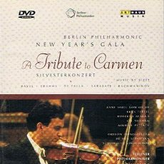 Vídeos y DVD Musicales: DVD BERLÍN PHILHARMONIC NEW YEAR´S GALA A TRIBUTE TO CARMEN. Lote 46060324