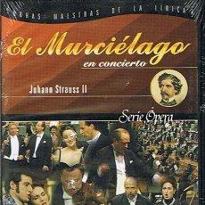 Vídeos y DVD Musicales: DVD EL MURCIÉLAGO EN CONCIERTO (PRECINTADO). Lote 46061016