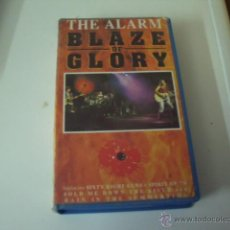 Vídeos y DVD Musicales: THE ALARM-BLAZE OF GLORY DIRECTO. Lote 46092600