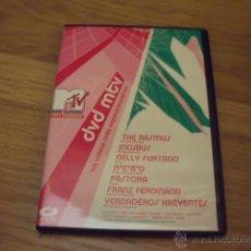 Vídeos y DVD Musicales: DVD-MTV INCUBUS,RASMUS ,FRANZ FERDINAND. Lote 46093402