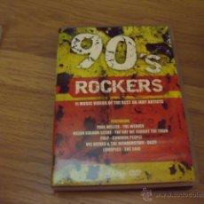 Vídeos y DVD Musicales: 90,S ROCKERS-PAUL WELLER,PULP,OCEAN COLOUR SCENE,ETC DVD. Lote 46093431