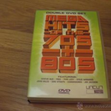 Vídeos y DVD Musicales: MEGAHITS 70 Y 80-THIN LIZZY,THE JAM ,ETC DOBLE DVD. Lote 46093470