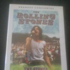 Vídeos y DVD Musicales: CONCIERTOS DVD THE STONES IN THE PARK 1969 - U2 RATTLE AND HUM 1988 - PRETENDERS LOOSE IN L.A. 2003. Lote 46106716