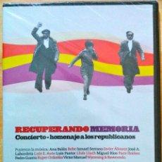 Vídeos y DVD Musicales: CONCIERTO HOMENAJE A LOS REPUBLICANOS.ANA BELÉN,MIGUEL RÍOS,PACO IBÁÑEZ,LUIS EDUARDO AUTE..DVD NUEVO. Lote 46123371