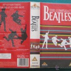 Vídeos y DVD Musicales: THE COMPLEAT BEATLES (VHS) (UK, EDICIÓN INGLESA). Lote 46431033