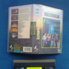 Vídeos y DVD Musicales: VIDEO ORIGINAL VHS IRON MAIDEN 12 WASTED YEARS 1988. Lote 46467928