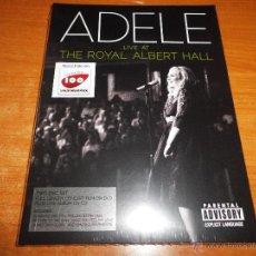 Vídeos y DVD Musicales: ADELE LIVE AT THE ROYAL ALBERT HALL CD + DVD PRECINTADO AÑO 2011 . Lote 46603173