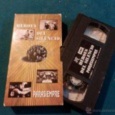 Vídeos y DVD Musicales: HEROES DEL SILENCIO - PARASIEMPRE - VIDEO VHS PROMOCIONAL - EMI 1996 (ENRIQUE BUNBURY). Lote 46657587