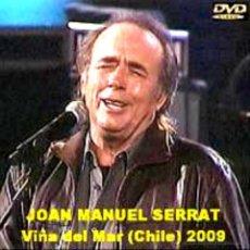 Vídeos y DVD Musicales: JOAN MANUEL SERRAT – FESTIVAL DE VIÑA DEL MAR, SANTIAGO DE CHILE - 2009 (DVD). Lote 194724307