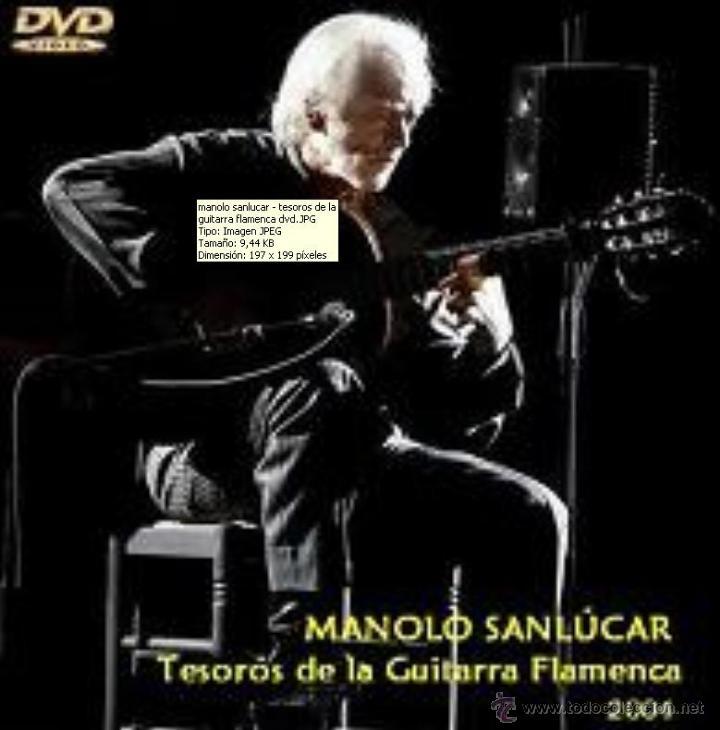 MANOLO SANLUCAR - TESOROS DE LA GUITARRA FLAMENCA (DVD) (Música - Videos y DVD Musicales)