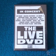 Vídeos y DVD Musicales: IN CONCERT THE LIVE DVD . Lote 47357802